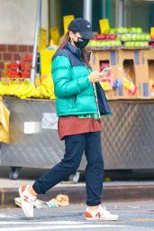 Emily Ratajkowski - Stops at Whole Foods in NY 10/12/2020