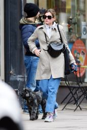 Emma Corrin in Casual Outfit - London 10/18/2020
