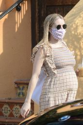 Emma Roberts - Heading Out in LA 10/05/2020