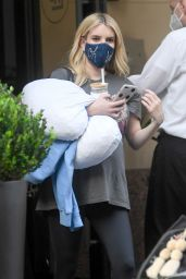 Emma Roberts - Leaving an Office Building in LA 10/21/2020