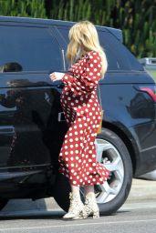 Emma Roberts - Running Errands in Los Angeles 10/20/2020