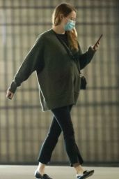 Emma Stone - Heads to a Meeting in Santa Monica 10/20/2020