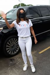 Eva Longoria at Ana Navarro Rally in Miami 09/30/2020