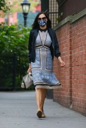 Famke Janssen Looks Stylish - New York 10/10/2020