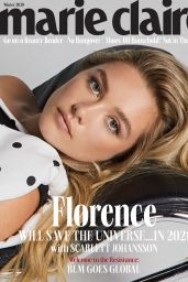 Florence Pugh - Marie Claire Winter Issue 2020