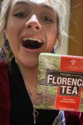 Florence Pugh - Social Media Photos 10/05/2020