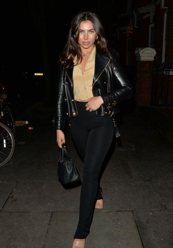Francesca Allen Night Out Style - London