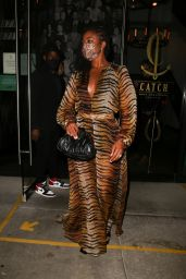 Gabrielle Union Night Out Style - West Hollywood 10/17/2020