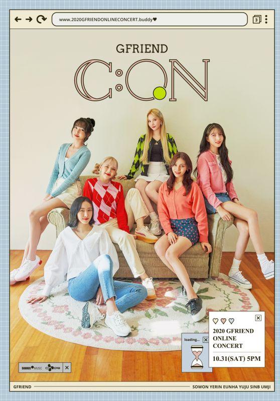 """GFriend - 2020 Online Concert """"GFriend : Con"""""""