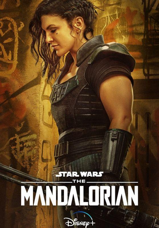 "Gina Carano - ""The Mandalorian"" Season 2 Poster"