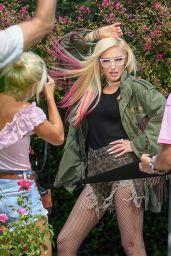 Gwen Stefani - Photoshoot in Calabasas 10/07/2020