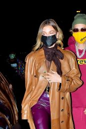 Hailey Bieber and Justin Bieber Night Out - New York City 10/15/2020