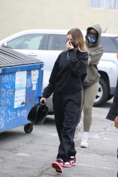 Hailey Bieber - Arrives at a SPA in LA 10/23/2020