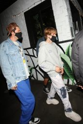 Hailey Bieber at 40 Love in West Hollywood 10/06/2020