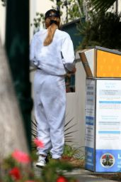 Hailey Bieber in Casual Outfit - Los Angeles 10/20/2020