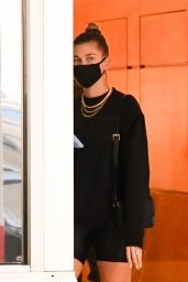 Hailey Bieber - Leaves a Dermatologist Appointment in Beverly Hills 10/12/2020