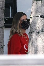 Hailey Bieber - Out in West Hollywood 10/01/2020