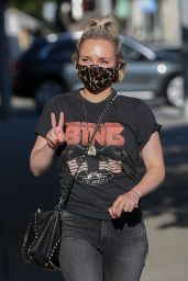 Hayden Panettiere - Out in Beverly Hills 10/27/2020