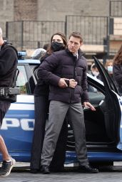 "Hayley Atwell and Tom Cruise - Filming for ""Mission Impossible 7"" in Rome 10/12/2020"