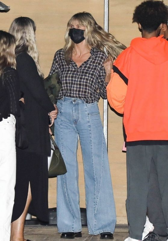 Heidi Klum at Nobu in Malibu 10/09/2020
