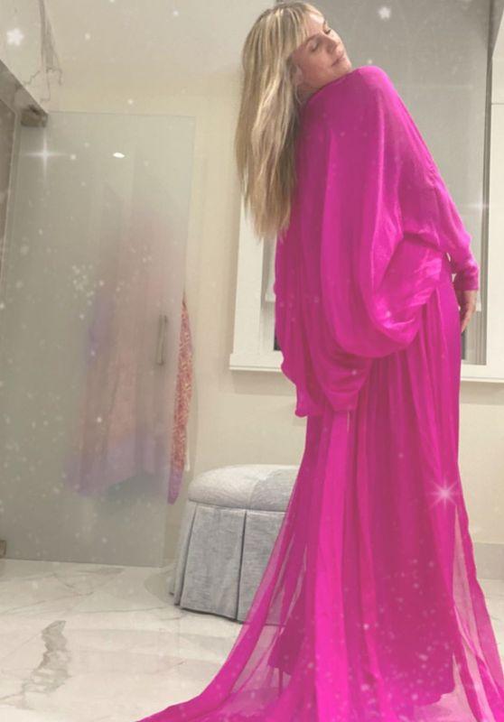 Heidi Klum Outfit – Instagram 10/05/2020 (II)