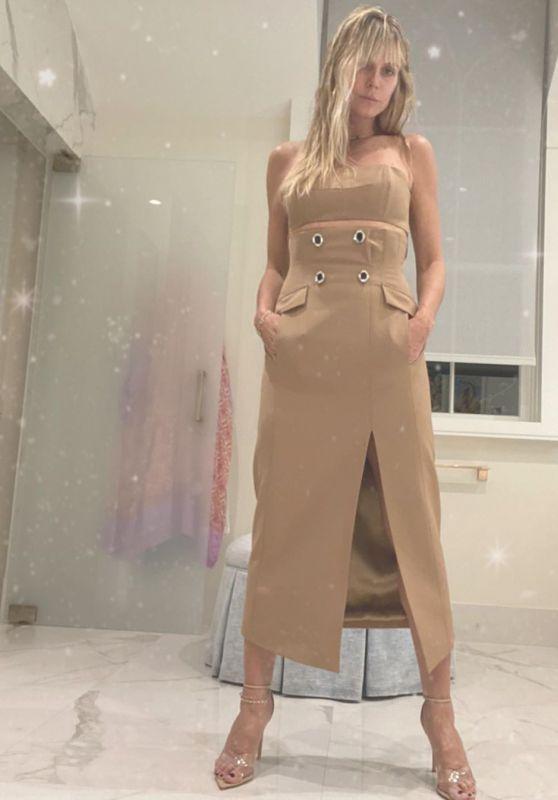 Heidi Klum Outfit – Instagram 10/05/2020 (VI)