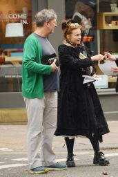 Helena Bonham Carter - Out in North London 09/30/2020