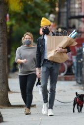 Hilary Duff - Out in NYC 10/24/2020
