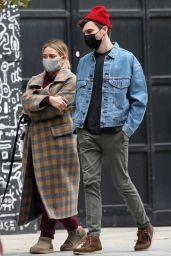 Hilary Duff - Out in NYC 10/25/2020