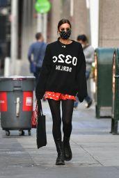 Irina Shayk Cute Street Style - New York 10/06/2020