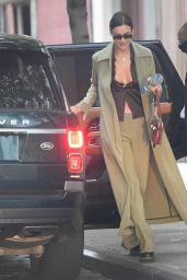 Irina Shayk is Stylish - New York City 10/27/2020