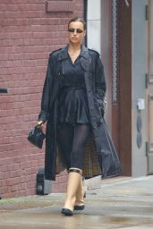 Irina Shayk - Out in New York City 10/28/2020