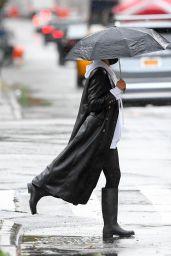 Irina Shayk - Out in New York City 10/31/2020