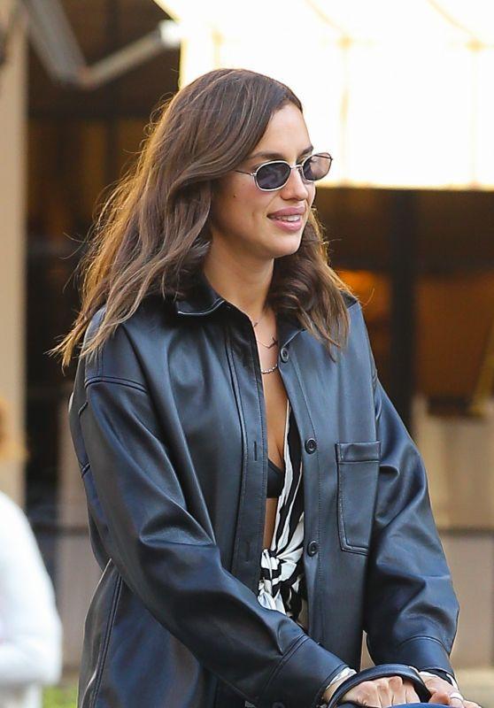Irina Shayk - Strolls in New York City 10/21/2020