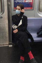Jaimie Alexander - Riding the Subway in Downtown Manhattan 10/14/2020