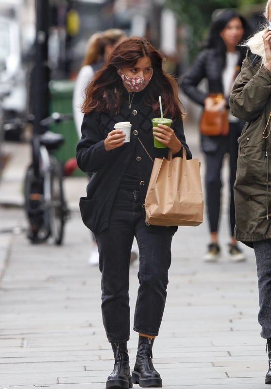 Jenna Coleman in Notting Hill 10/13/2020