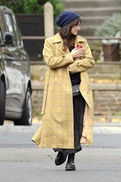 Jenna Coleman - Out in London 10/30/2020