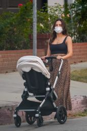 Jenna Dewan - Taking Her Baby Out For a Walk in LA 10/15/2020
