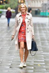 Jenni Falconer - Leaving the Global Studios in London 10/06/2020