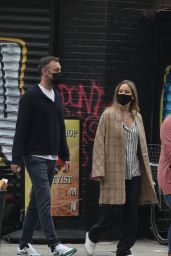 Jennifer Lawrence - Out for a Stroll in NY 10/05/2020