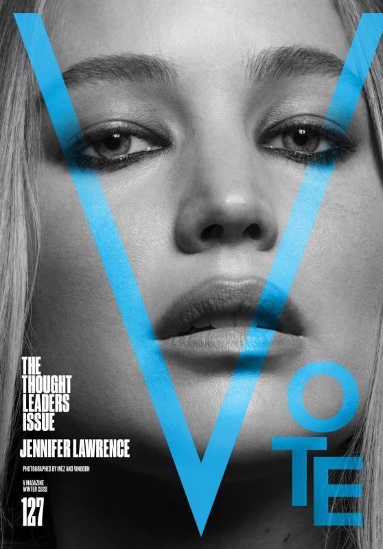 Jennifer Lawrence - V Magazine Winter 2020