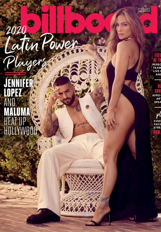 Jennifer Lopez - Billboard Magazine October 2020 Cover and Photos