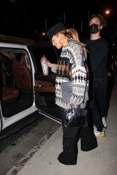Jennifer Lopez - Leaves a Business Meeting in Hollywood 10/23/2020