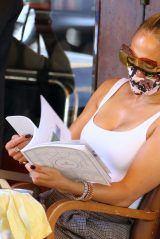 Jennifer Lopez - Out For Lunch at Cipriani Downtown in NYC 09/07/2020
