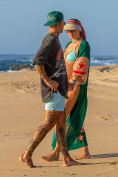 Jessica Hart in a Bikini - Beach in Cabo San Lucas 10/03/2020