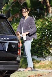 Jordana Brewster - Running Errands in LA 10/14/2020