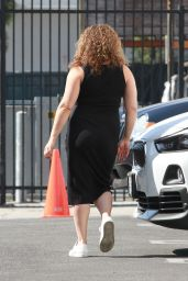 Justina Machado - Heads Into the DWTS Studio in LA 10/28/2020