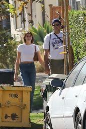 Kaia Gerber and Jacob Elordi - Hollywood 10/29/2020