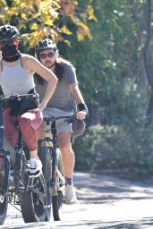 Kate Hudson - Rides Her Bicycle in Brentwood 10/29/2020