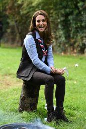 Kate Middleton - Visits a Scout Group in Northolt, Northwest London 09/29/2020